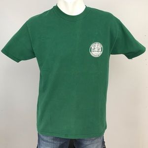 Vintage Ducks Unlimited T Shirt Green L USA Made